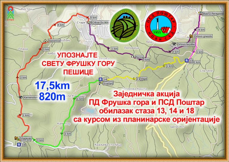 Fruška gora – šetnja i obuka iz planinarske orjentacije