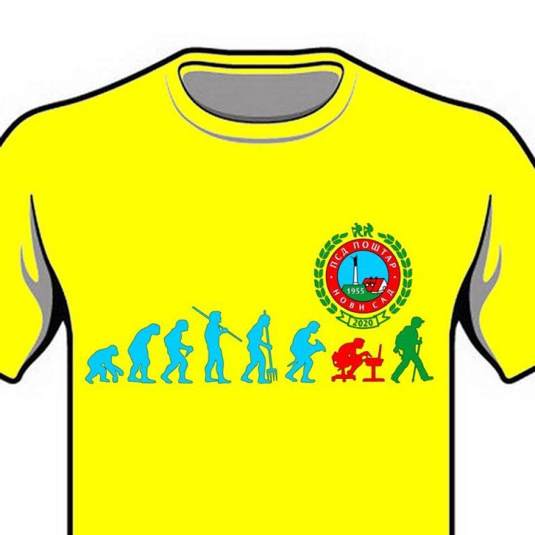 """Majice PSD """"Poštar"""" u godini jubileja"""